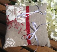 coussin alliances lin naturel