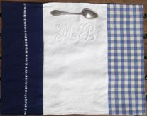 set de table linge ancien